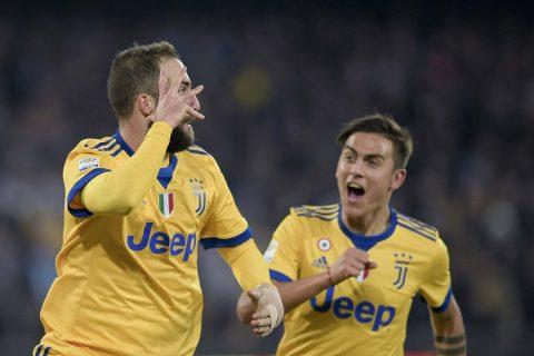Higuain ghi bàn kết liễu đội bóng cũ, Juventus chỉ còn kém Napoli đúng 1 điểm