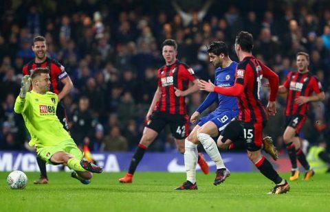 5 điểm nhấn Chelsea 2-1 Bournemouth: Morata lại ăn đứt Lukaku