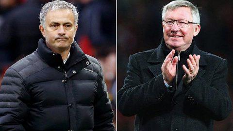 Sir Alex vẫn đứng về phía Mourinho sau chuỗi trận thất vọng của M.U