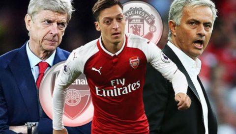 Mourinho sẽ mua Mesut Ozil vì… Wenger