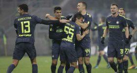 Nhờ đến loạt penalty cân não, Inter nhọc nhằn vượt qua nhược tiểu