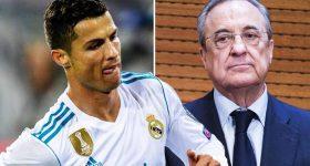 Florentino Perez phát chán với sự ngạo mạn của Ronaldo