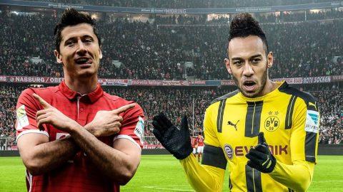 Aubameyang và Lewandowski thống trị cuộc đua phá lưới Bundesliga