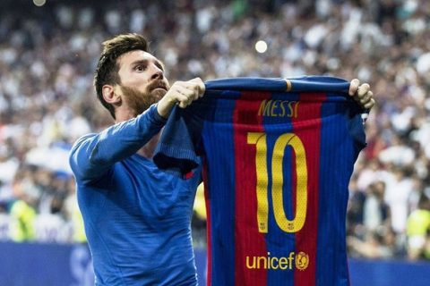 Nhìn lại 5 trận đấu có thể giúp Messi giành Quả bóng vàng 2017