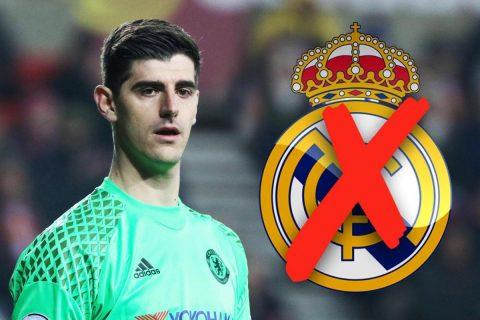 Chelsea thà mất trắng Courtois còn hơn bán cho Real Madrid
