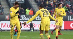 M-C-N thay nhau lập công, PSG dễ dàng vùi dập Rennes