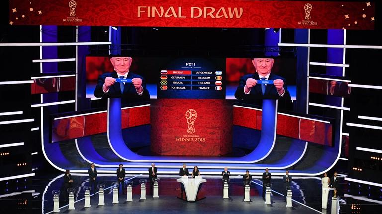 Kết quả bốc thăm vòng bảng World Cup 2018: Vắng bóng bảng tử thần