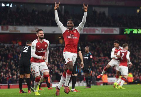 "Thắng dễ West Ham, Arsenal ""book"" vé vào bán kết Carabao Cup"