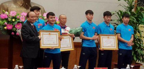 U23 Việt Nam được Thủ tướng trao tặng Huân chương hạng nhất
