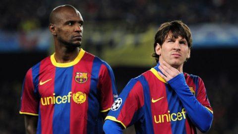 Eric Abidal nhớ mãi sự phũ phàng của Messi và đồng đội