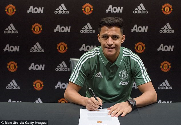 Alexis Sanchez CHÍNH THỨC gia nhập M.U, nhận lương kỷ lục