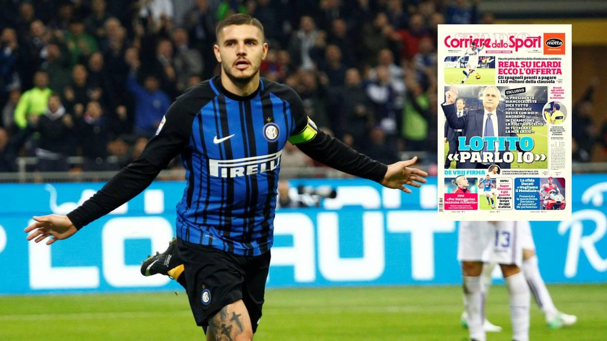 Chuyển nhượng 22/1: Real mua Icardi thay cho Ronaldo