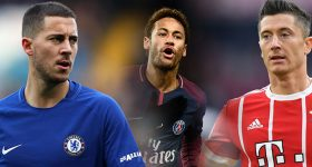 Chuyển nhượng 18/01: Real thay máu BBC bằng Neymar – Hazard – Lewandowski