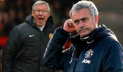 Mourinho tích cực khẩu chiến vì… Sir Alex