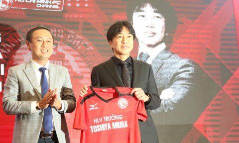 HLV Miura đầu quân cho đội của Lê Công Vinh, mơ vô địch V-League
