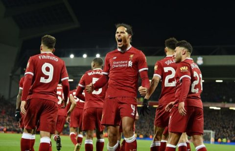Van Dijk nổ súng ngày ra mắt, Liverpool khuất phục Everton