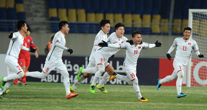 U23 Việt Nam đã khiến U23 Hàn Quốc gặp nhiều rắc rối