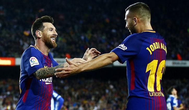 Messi và Alba: Cặp song tấu hoàn hảo của Barcelona