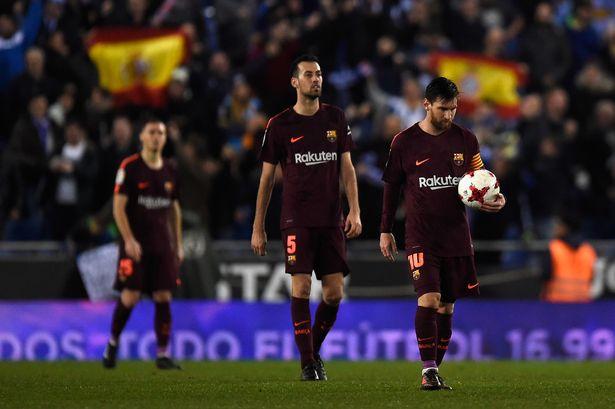 Messi 'xịt' pen, Barca nhận thất bại đầu tiên trong mùa giải