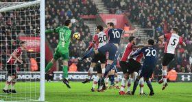 Kane nổ súng, Tottenham vẫn chỉ hòa