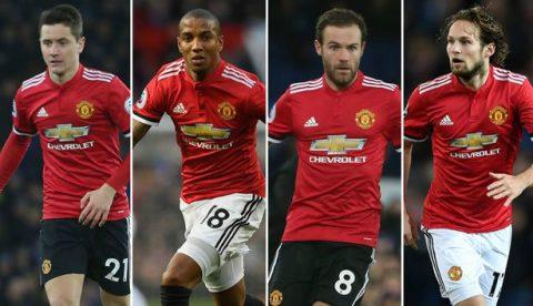Điểm tin chiều 06/01: Man Utd một lúc 'trói chân' 4 cầu thủ; Tevez trở về quê nhà chơi bóng