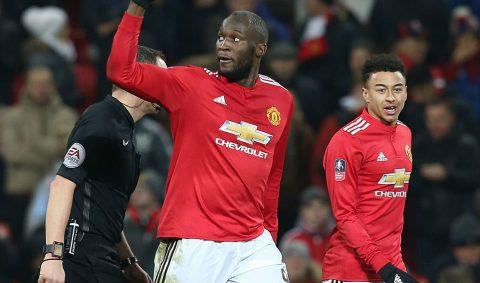 Lukaku tỏa sáng sau khi vào sân, M.U thắng nhẹ Derby County