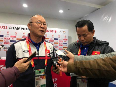 HLV Park Hang Seo: 'U23 Việt Nam sẽ chơi tấn công trước Iraq'