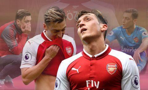 NÓNG: Mesut Ozil đồng ý ở lại Arsenal, hưởng lương cao kỷ lục