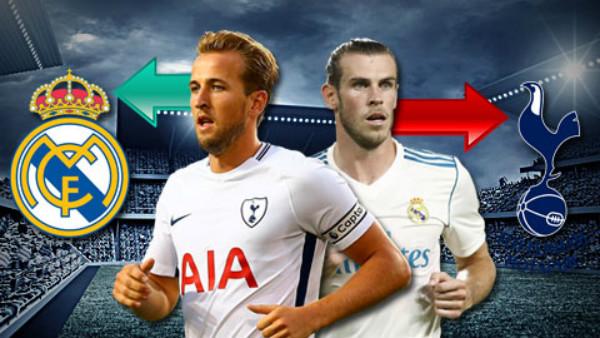 Chuyển nhượng 26/1: Real muốn đổi Bale lấy Kane vào Hè 2018