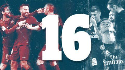 16 điểm khác biệt tạo ra khoảng cách giữa Barca và Real