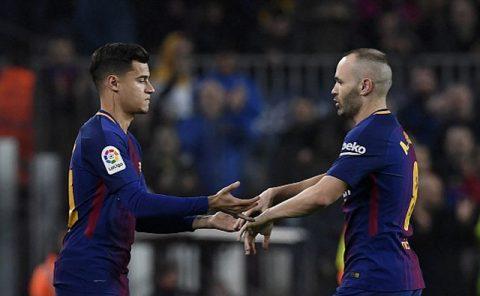 Coutinho ra mắt, Barca nhẹ nhàng vào bán kết Cúp Nhà vua