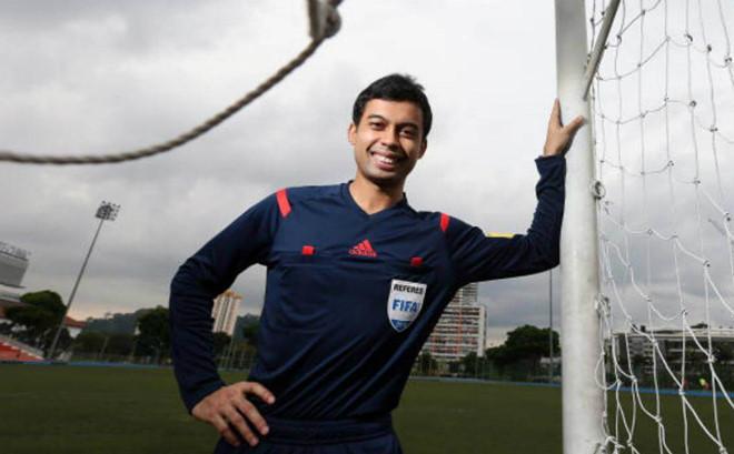 Trọng tài người Singapore bắt trận U23 Việt Nam vs U23 Qatar
