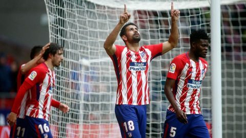 Diego Costa nổ súng, Atletico nhẹ nhàng đánh bại Getafe