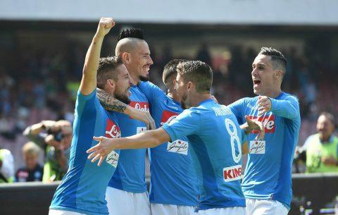 Napoli giữ vững ngôi đầu bảng, Lazio phả hơi nóng vào Inter