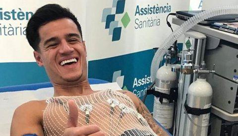Coutinho mới đến Barca, vắng mặt 3 tuần do chấn thương