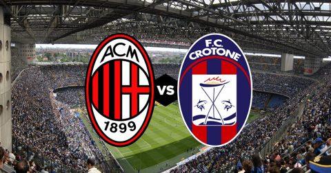 Nhận định AC Milan vs Crotone, 21h00 ngày 06/01: Cơ hội thức giấc