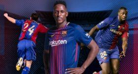 Tân binh Yerry Mina nhận số áo cũ của thủ quân Barca