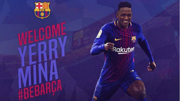Chi thêm 3 triệu euro, Barca chuẩn bị đón Yerry Mina