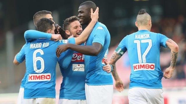 Serie A chỉ còn trông chờ vào Napoli
