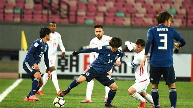 U23 Nhật Bản nhọc nhằn giành thắng lợi trước U23 Palestine
