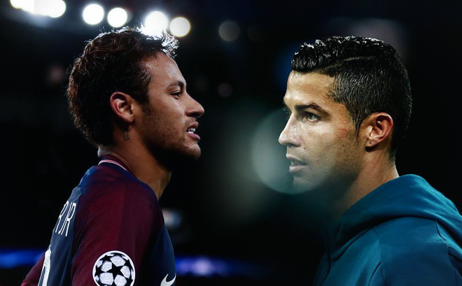 "Neymar bất ngờ gửi ""lời yêu"" đến Ronaldo"