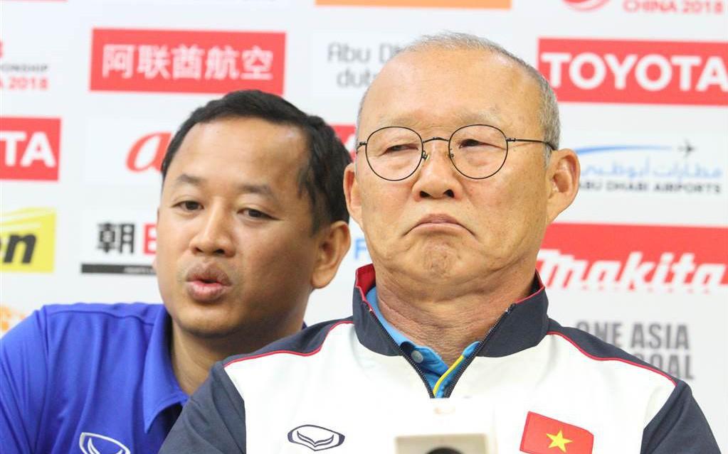 HLV Park bức xúc vì báo Hàn đưa tin sai lệch, chia rẽ thầy-trò U23 Việt Nam