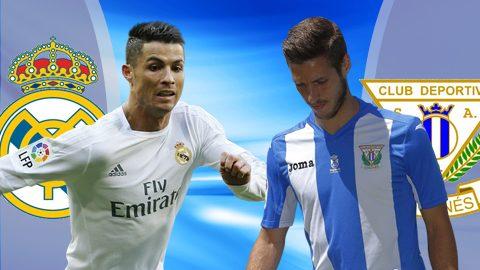 Nhận định Real Madrid vs Leganes, 3h30 ngày 25/01: Tiếp tục thắng lợi