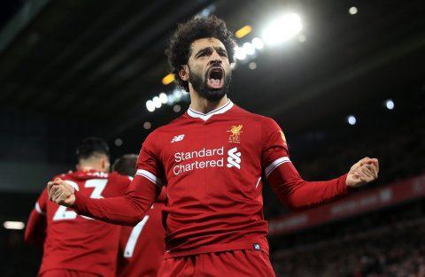 Mohamed Salah tiếp tục lên đỉnh vinh quang