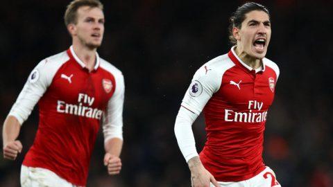 Bellerin ghi bàn phút 90+2, Arsenal cầm chân Chelsea tại Emirates