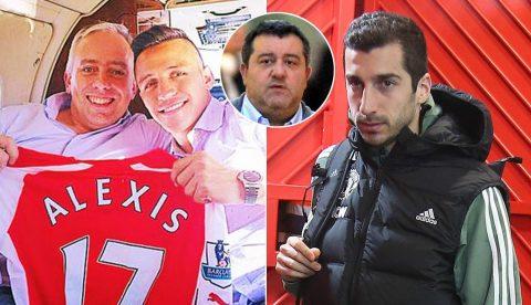CẬP NHẬT: Diễn biến thương vụ trao đổi Sanchez với Mkhitaryan