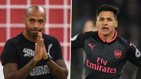 Henry bị fan Arsenal chỉ trích, Alexis Sanchez lên tiếng bảo vệ