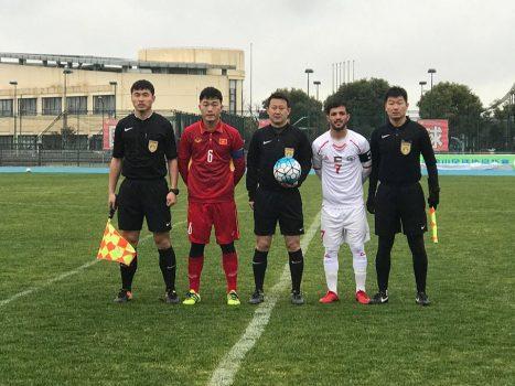 Đức Chinh nổ súng, U23 Việt Nam thủ hòa U23 Palestine