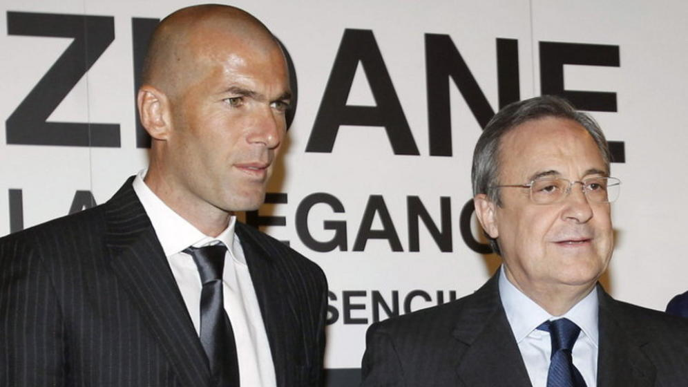 """Real tiếp tục """"rối như canh hẹ"""" vì Zidane mâu thuẫn với Chủ tịch Perez"""