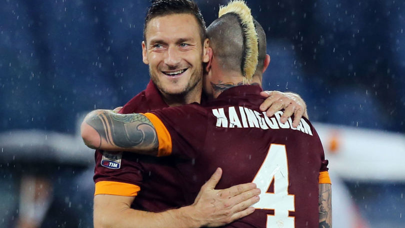 """Nainggolan: """"Chúng tôi rất nhớ Totti"""""""